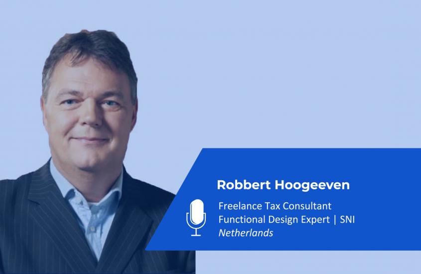 Robbert Hoogeveen – Freelance SAP TAX Consultant & Functional Design Expert   Netherlands